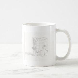 box turtle cube drawing Eliana Coffee Mug