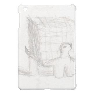 box turtle cube drawing Eliana Cover For The iPad Mini