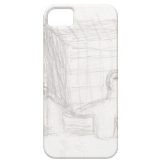 box turtle cube drawing Eliana iPhone 5 Cover