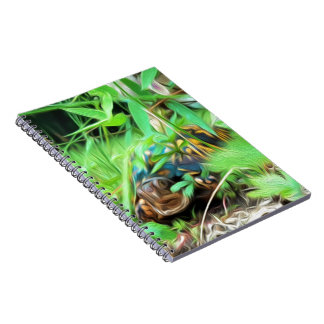 Box Turtle Spiral Notebook