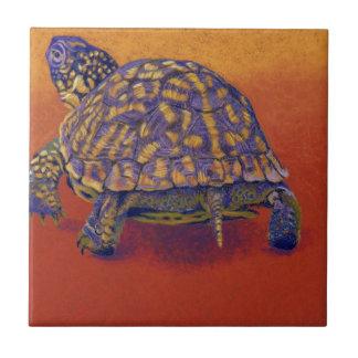 Box Turtle, tortoise Tile