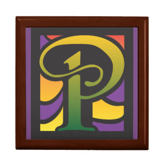Box With Letter P