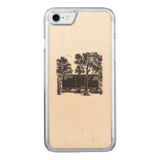 Boxcar Children Classic Boxcar Carved iPhone 8/7 Case