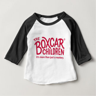 Boxcar Children Official Logo with Tagline Baby T-Shirt