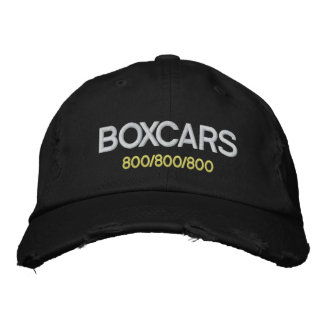 Boxcars! Embroidered Hat