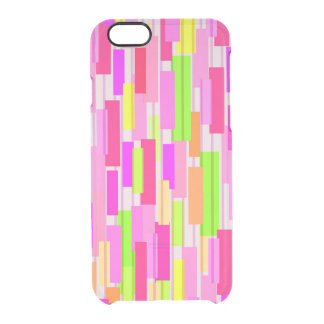 Boxed Stripe Clear iPhone 6/6S Case