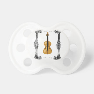 boxed violin baby pacifiers