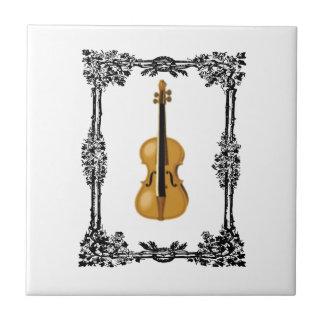 boxed violin tiles