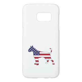 "Boxer ""American Flag"" Samsung Galaxy S7 Case"