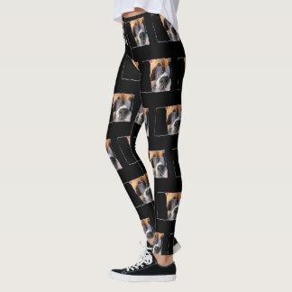 Boxer Art dog art leggings