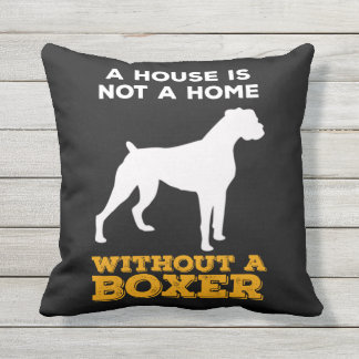 BOXER AT HOME PILLOW