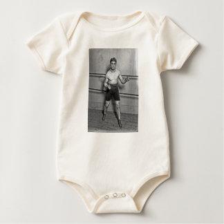 Boxer Auguste Grassi (1920) Baby Bodysuit