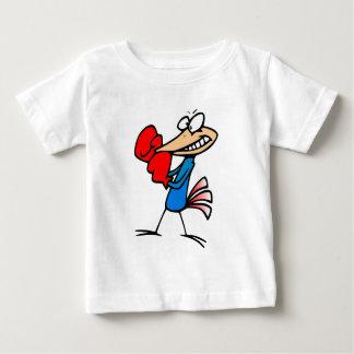 Boxer bird cartoon colorful illustration t shirts