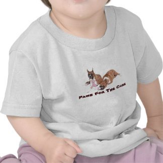 Boxer Breast Cancer Toddler Unisex T-Shirt