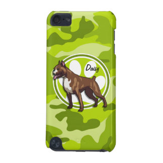Boxer bright green camo camouflage iPod touch (5th generation) cases