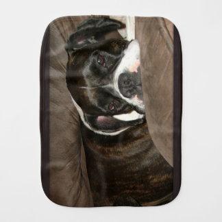 Boxer Burp Cloth