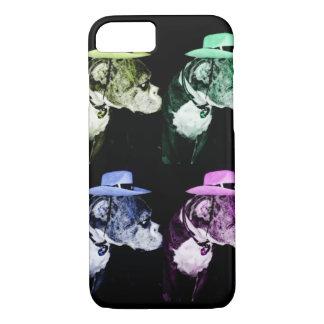 Boxer Cowboy hat iPhone 7 Case