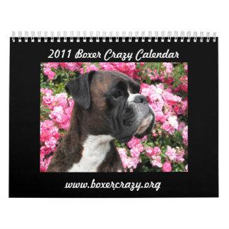 Boxer Crazy Calendar 2011