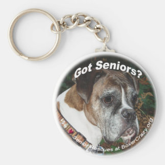 Boxer Crazy Keychains - Senior Rescue