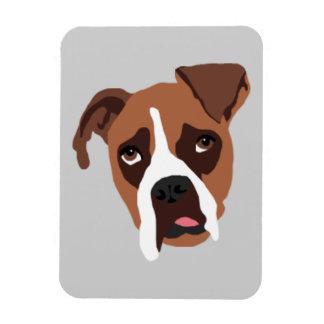 "Boxer Dog 3"" x 4"" Magnet"