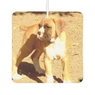 Boxer dog air freshener