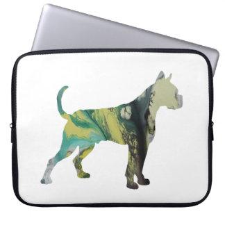 Boxer Dog Art Computer Sleeve