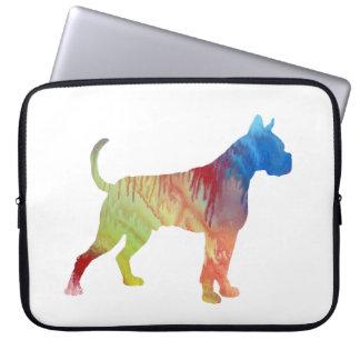 Boxer Dog Art Laptop Computer Sleeve