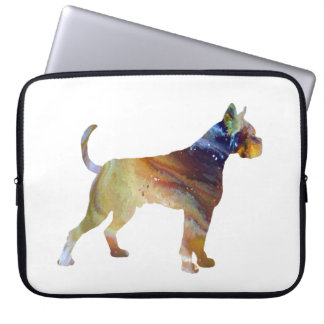 Boxer Dog Art Laptop Sleeve
