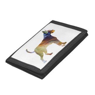 Boxer Dog Art Tri-fold Wallet