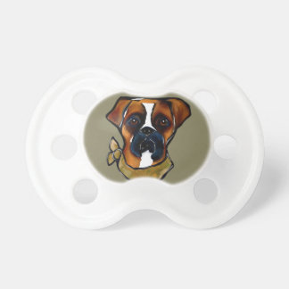 Boxer Dog Baby Pacifier