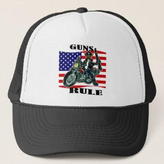 Boxer Dog Biker Trucker Hat