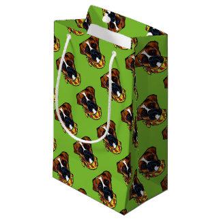 Boxer Dog Cinco de Mayo Small Gift Bag