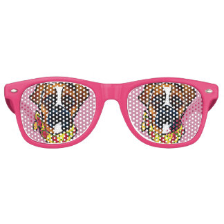 Boxer Dog Cinco de Mayo Sunglasses