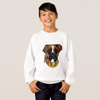 Boxer Dog Cinco de Mayo Sweatshirt
