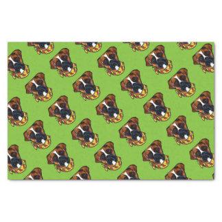 Boxer Dog Cinco de Mayo Tissue Paper