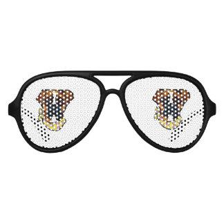 Boxer Dog Easter Aviator Sunglasses