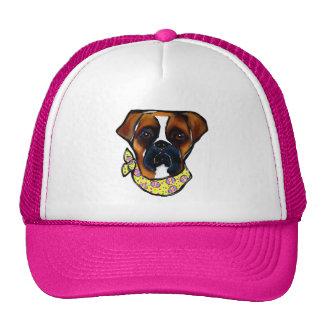 Boxer Dog Easter Trucker Hat