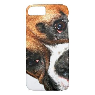 Boxer dog eyes iPhone 8/7 case