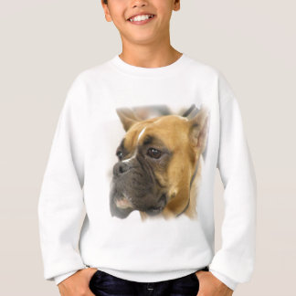 Boxer Dog Face Sweatshirt