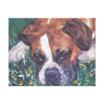Boxer Dog fine art dog painting Gallery Wrap Canvas