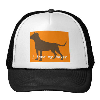 Boxer Dog Hat