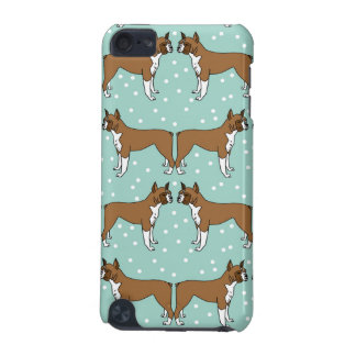 Boxer Dog in Mint - Illustration / Andrea Lauren iPod Touch 5G Case