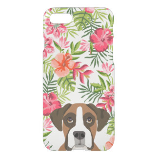 Boxer dog iphone case tropical iphone case