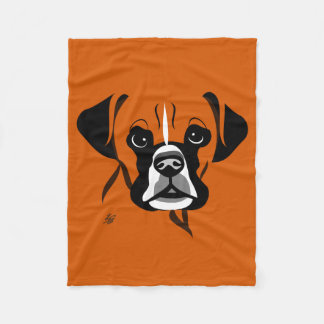 Boxer Dog Lover Blankets