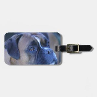 Boxer Dog Luggage Tag