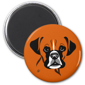Boxer Dog Magnets