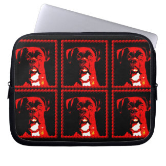 Boxer dog Neoprene Laptop Sleeve