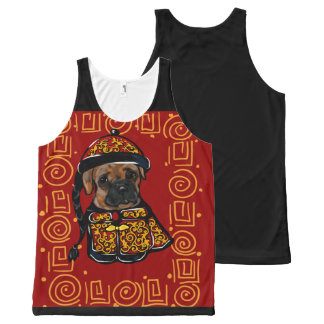 Boxer Dog of the Year All-Over-Print Tank Top