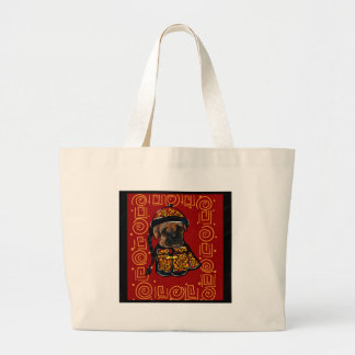 Boxer Dog of the Year Large Tote Bag