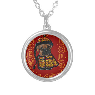 Boxer Dog of the Year Silver Plated Necklace